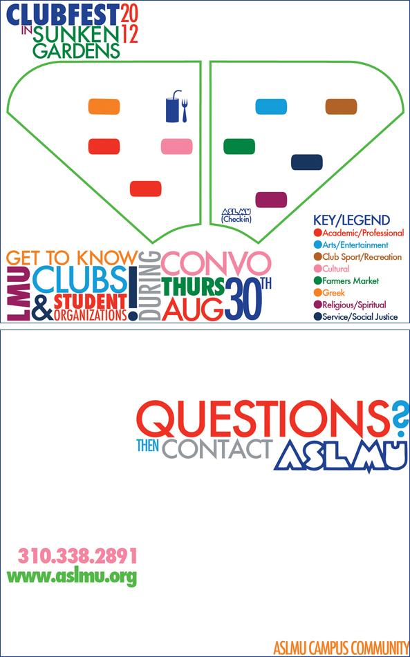 Clubfest 2012 Postcards