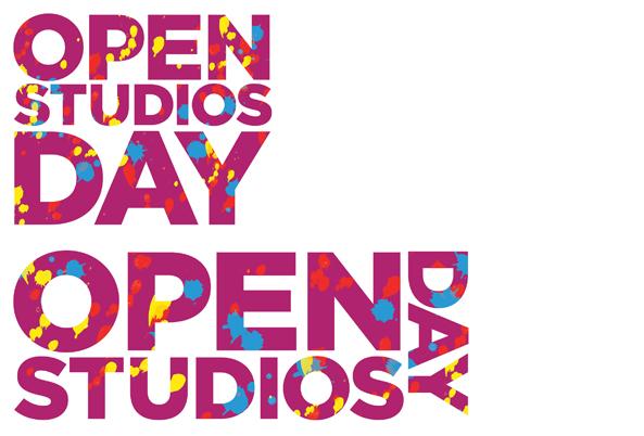 Angels Gate Cultural Center Open Studios Day Logos