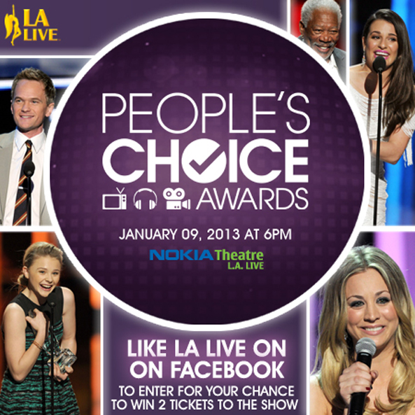 People's Choice Awards Contest Promos