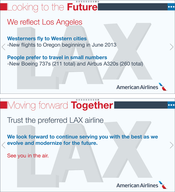 American Airlines at LAX Data Insights