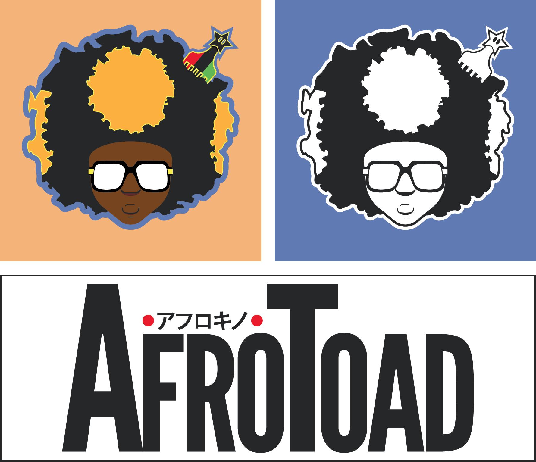 AfroToad 2019 Logos